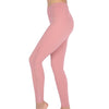 SUPERCOOL  | Women's Naked Feeling Yoga Leggings with Mesh Design (New York Pink)