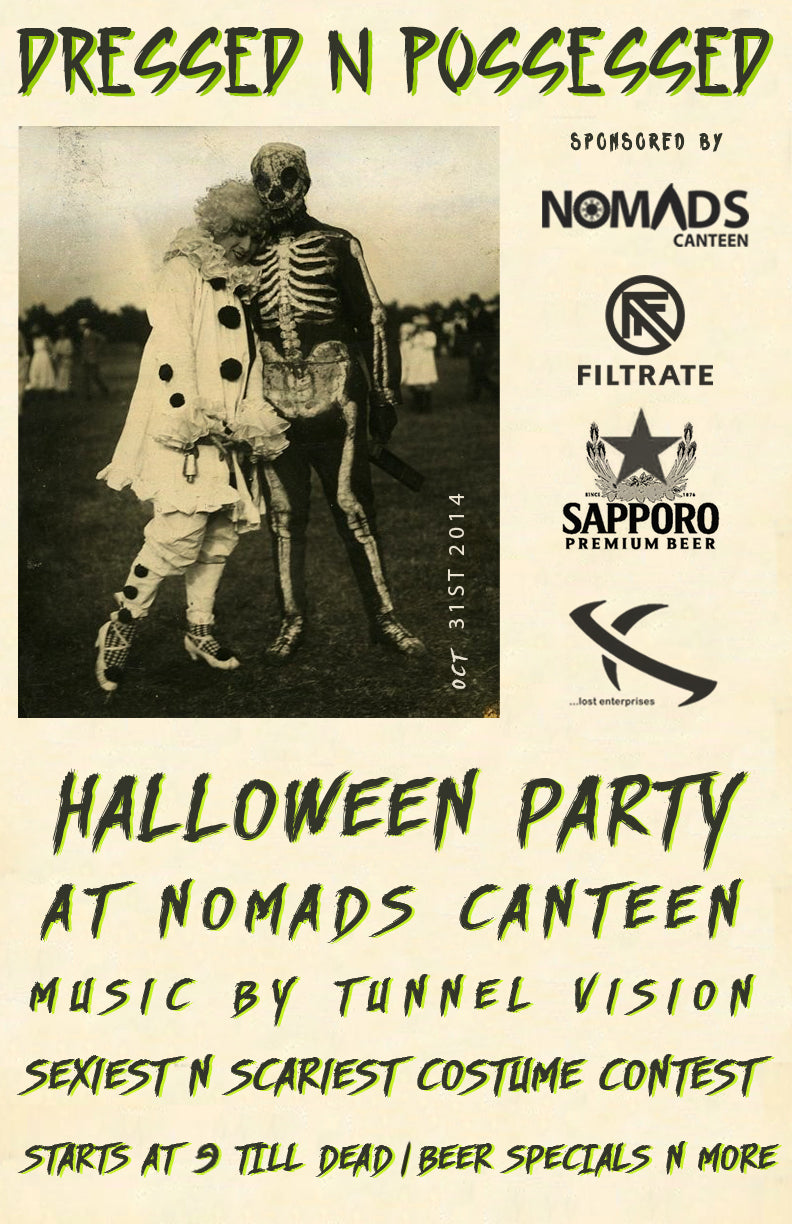 Filtrate annual Halloween Party 'Dressed n Possessed'