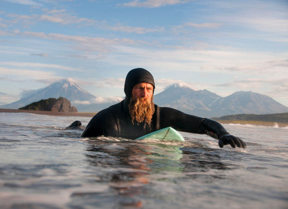 CHRIS BURKARD - Surfing the cold