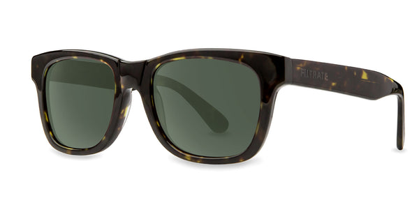 Oxford | Filtrate Eyewear | Acetate-GLOSS OLIVE TORTOISE/ GREEN G-15-Filtrate Eyewear