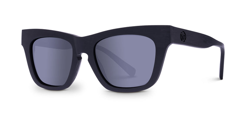 Voyeur-BLACK RAW / GREY POLAR LENS-Filtrate Eyewear