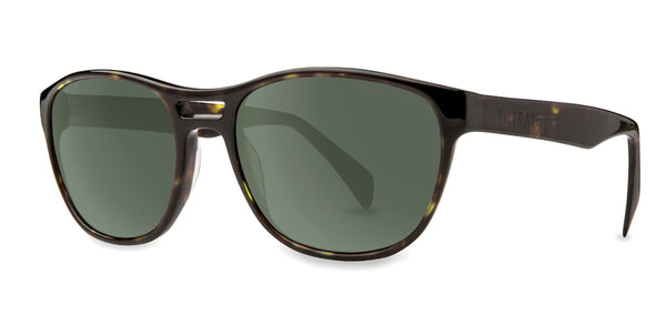 Echo | Filtrate Eyewear | Acetate-OLIVE TORTOISE/ GREEN G-15-Filtrate Eyewear