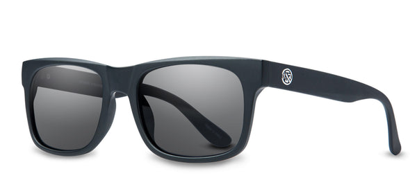 Litmus | BLACK MATTE/GREY POLAR LENS | Injected