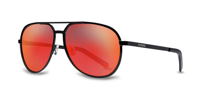 M.P. | BLACK / MIRROR LENS RED | Metals