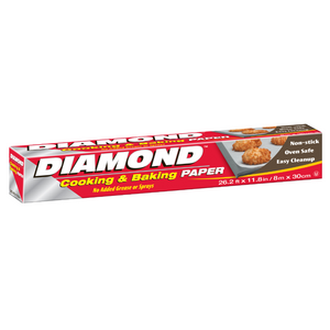 Diamond Cooking & Baking Paper 8m
