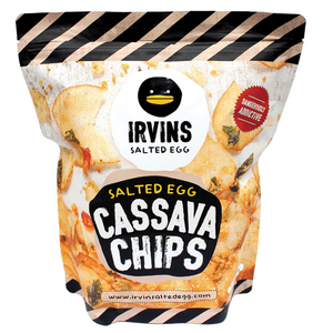 IRVINS Salted Egg Cassava Chips 230g (Big) - 50% off