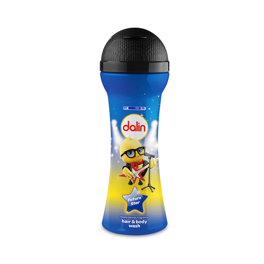 Dalin Kids Microphone Hair & Body Wash (Mixed Berries Scent) 300ml