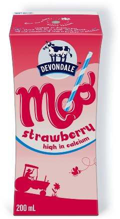 Devondale Moo Strawberry Milk 200ml - P10 ONLY!
