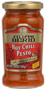 Filippo Berio Hot Chili Pesto 190g - P30 ONLY