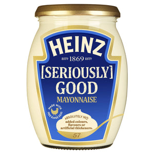 Heinz Seriously Good Mayo 480ml - 50% OFF