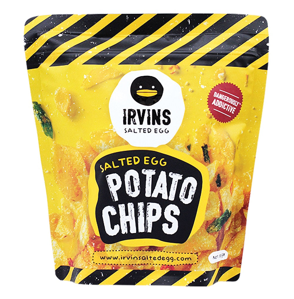 IRVINS Salted Egg Potato Chips 105g (Small) - 50% off