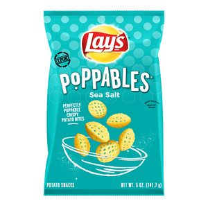 Lay's Poppables Sea Salt 5oz - 50% off