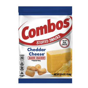 Combos Cheddar Cheese Cracker 6.3oz - 50% off