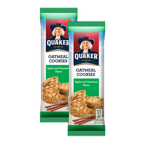 Quaker Cookie Apple Cinnamon 27g - Buy One Take One