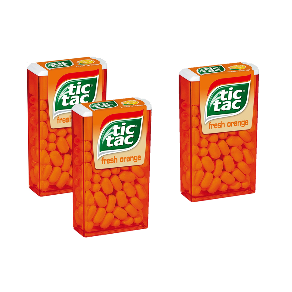 Tic Tac Orange 14.50g Buy 2+1 free