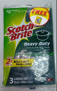 Scotch Brite Heavy Duty Scrub Pad ThriftPack - 50% OFF