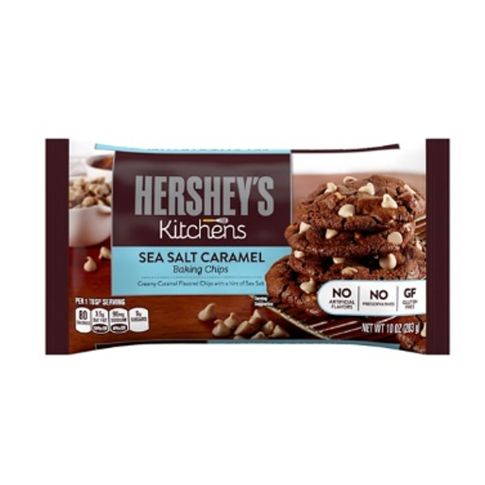Hershey's Kitchens Sea Salt Caramel Baking Chips 10oz