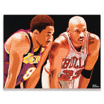 Load image into Gallery viewer, Kobe Bryant & Michael Jordan