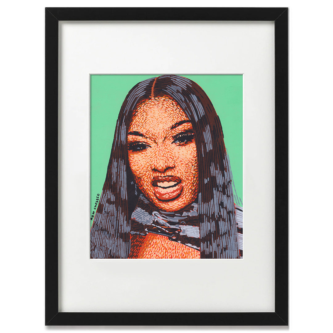 Megan Thee Stallion Print