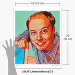 Load image into Gallery viewer, Young Elon Musk Print