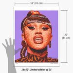Load image into Gallery viewer, Cardi B Print