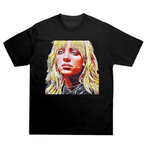 Blonde Billie Eilish T-shirt