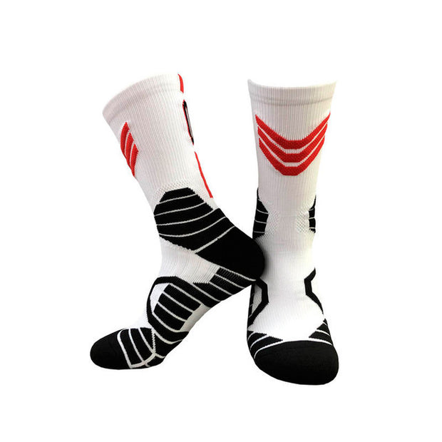 Thick Elite  Sports Socks Non-slip Durable Hoop Socks