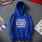 Straight Outta Lockdown Mens Hoodie