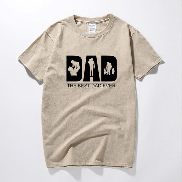Dad The Best Dad Ever T Shirt