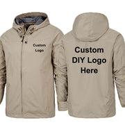 Custom Logo Design Men's Windproof and Waterproof Jacket