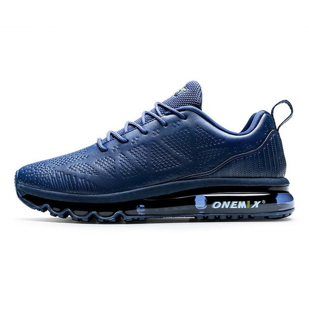 ONEMIX Men's Leather Running Shoes