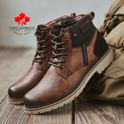 Comfy Durable Leather Casual Men's Boots