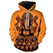 Lord Ganesh 3D Hoodies