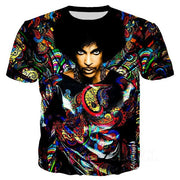 Prince Rogers Nelson 3D Print T-Shirt