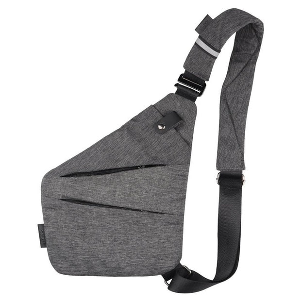Anti-Theft Carbon Lined Chest Bag