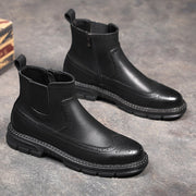Chunk Leather Men Boots