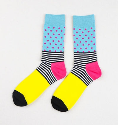 Crazy Styled Cotton Casual Socks
