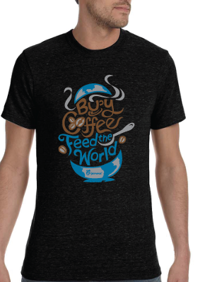Buy Coffee Feed the World Shirt