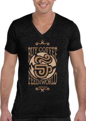 Buy Coffee Feed the World Shirt 3
