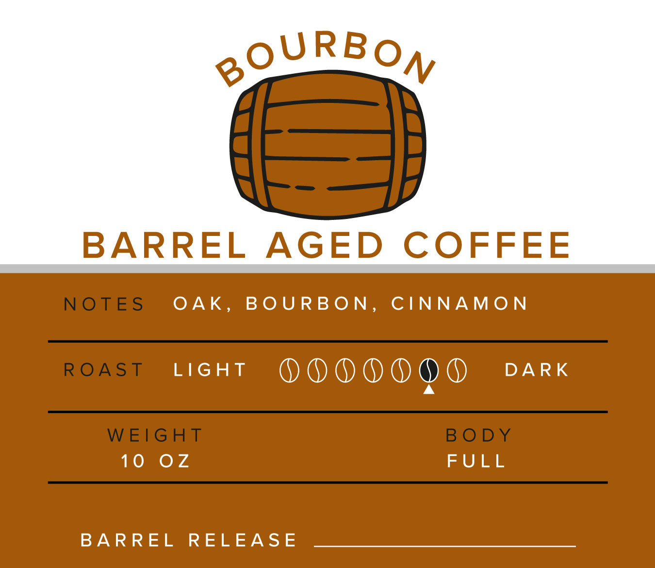 Bourbon Barrel Aged Coffee