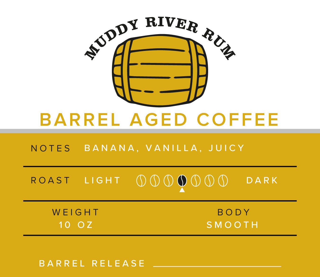 Barrel Aged - Rum Coffee