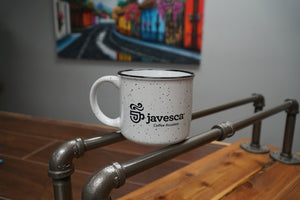Javesca 13oz Ceramic Camp Coffee Mug