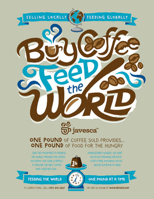 Poster - Buy Coffee Feed the World