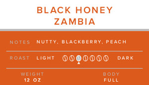 Zambia - Black Honey