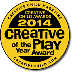 Tobo Track Creative Play of the Year Creative Child Toy Award Winner
