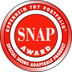 Tobo Track Oppenheim SNAP Special Needs Adaptable Product Toy Award Winner