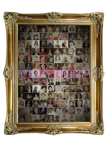 Women Who Shaped the World Collage