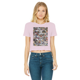 Women Shaped the World Classic Women's Cropped Raw Edge T-Shirt