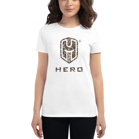Women's short sleeve t-shirt, World Greatest Conquerors