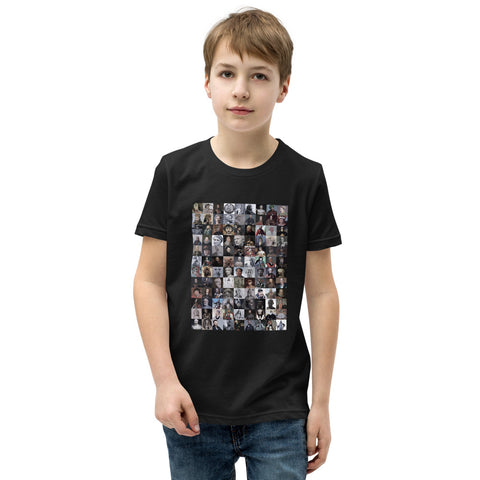 Youth Short Sleeve T-Shirt featuring the Greatest World Conquerors